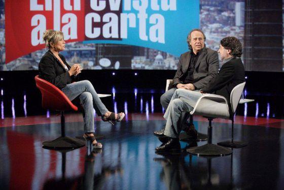 Julia Otero recibe en 'Entrevista a la carta' a Joan Manuel Serrat y Joaquín Sabina
