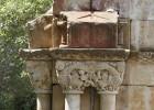 El claustro de Palamós sufrió la acción del fuego en su origen