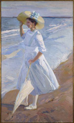 El cuadro 'Elena en la playa', de Sorolla.