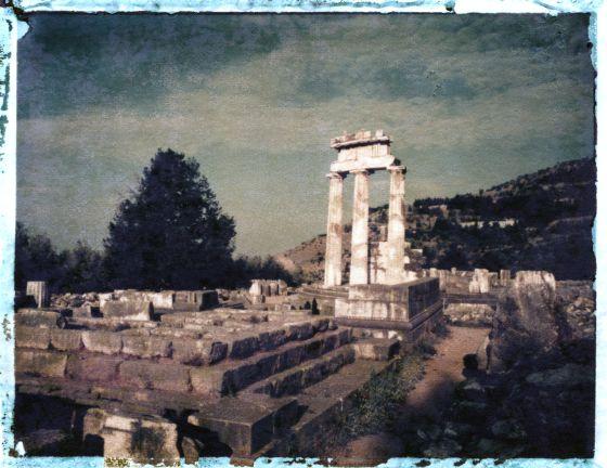 Ruinas del templo de Apolo (Delfos)