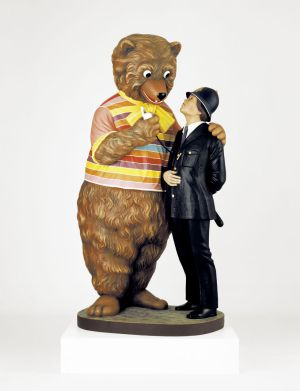 'Bear and Policeman', 1988