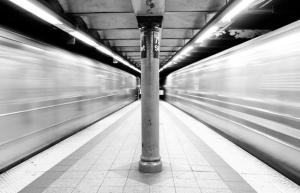 El metro de Nueva York.