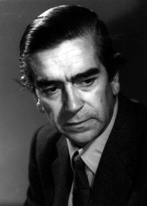 El escritor Ignacio Aldecoa.