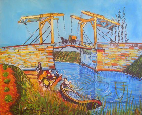 El puente de Langlois, de Van Gogh.