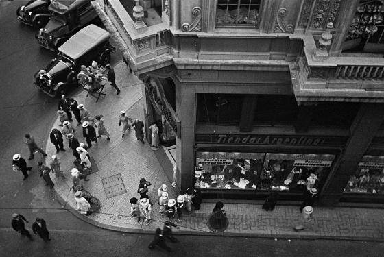 Foto de Buenos Aires en 1936.