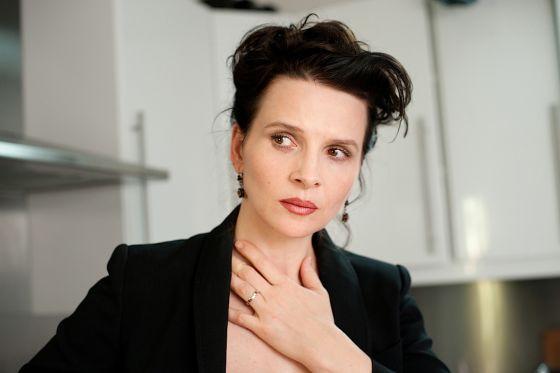 Juliette Binoche en una escena de 'Elles'.