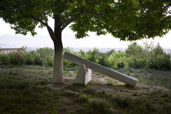 Escultura de Giuseppe Penone, una de las piezas de la muestra dOCUMENTA (13).