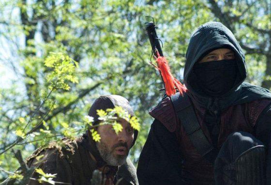 Escena de la serie de televisión 'Águila Roja', emitida por TVE.