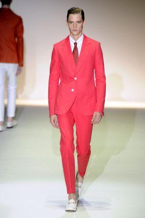 Un modelo de Gucci.