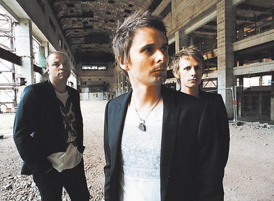 El trío británico Muse.