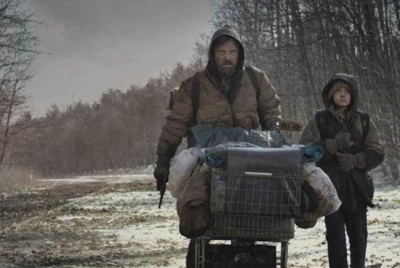 Viggo Mortensen, en el filme 'La carretera'.
