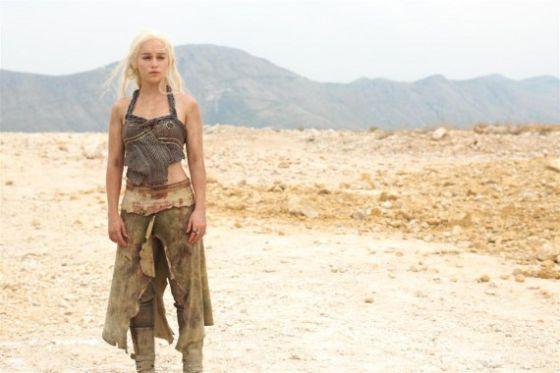 Emilia Clarke, como Daenerys Targaryen