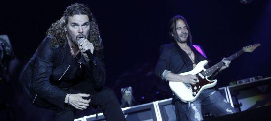 Maná, en su concierto en Arganda.