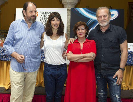 José María Pou, Concha Velasco, Maribel Verdú y Lluís Homar