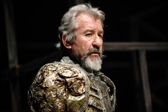 Pepe Sacristán, como Don Quijote