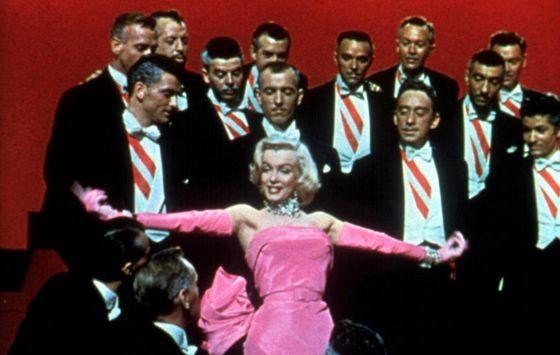 En los zapatos de Marilyn Monroe