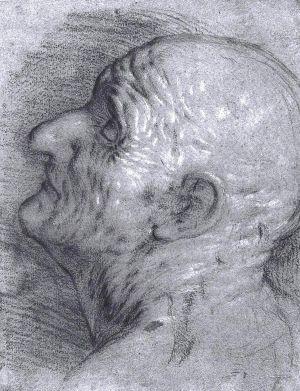Imagen de uno de los dibujos atribuidos a Caravaggio.