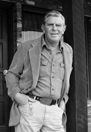 Andy Griffith, actor estadounidense, en 1983.