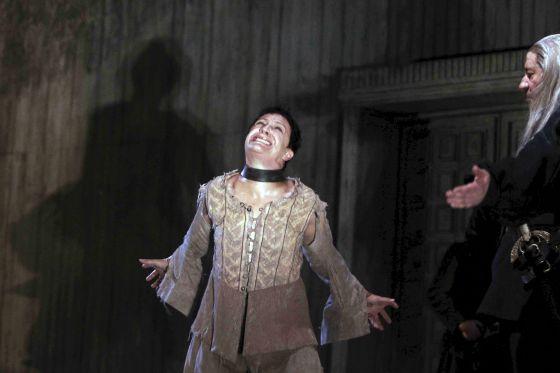 Blanca Portillo, dando vida a Segismundo en 'La vida es sueño'
