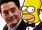 'Twin Peaks' contra 'Los Simpson'