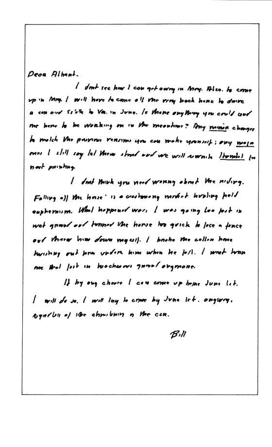 """""""Espero que sea lo bastante buena para dejar de escribir libros"""""""
