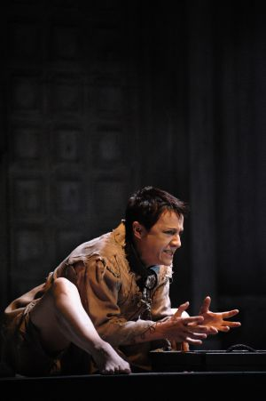 Blanca Portillo, como Segismundo en la versión de 'La vida es sueño' estrenada en Mérida.