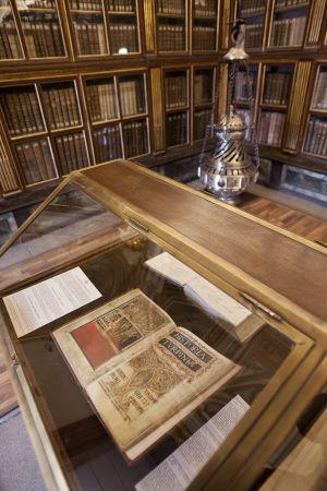 Sala Capitular de la Catedral de Santiago donde se presentará el Códice Calixtino tras su recuperación.