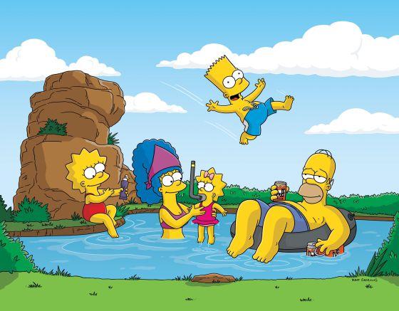 Los Simpson se la llevan de calle