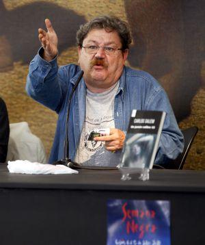 El coordinador del festival literario, Paco Ignacio Taibo II.
