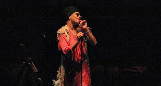 La cantante norteamericana Melody Gardot.