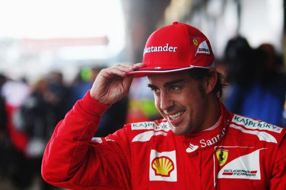 Fernando Alonso parte en la primera plaza de la parrilla en Alemania