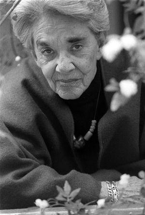 Chavela Vargas en una imagen de 1996.