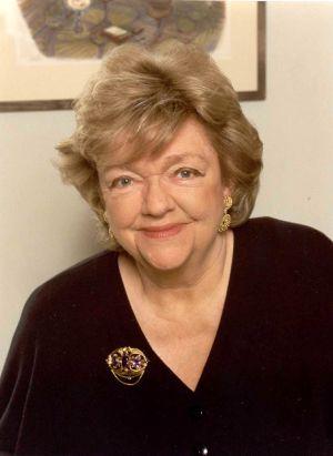 La escritora Maeve Binchy.