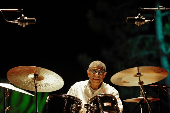 Sunny Murray en el festival lisboeta Jazz em Agosto