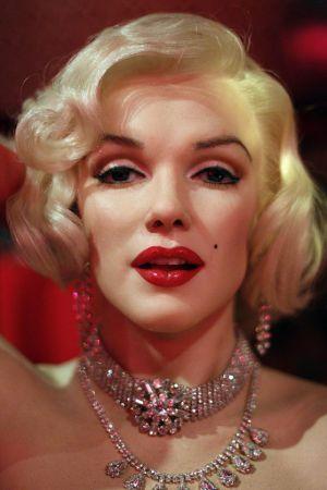 Figura de Marilyn en el Museo de Cera de Madrid