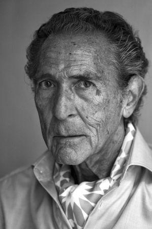 Antonio Gala, fotografiado en Málaga.