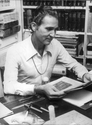 Antonio Gala en una imagen de 1976.