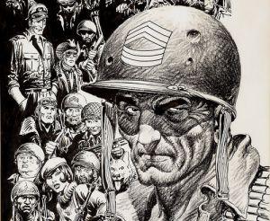 El Sargento Rock, personaje de Joe Kubert