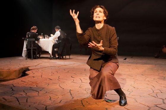 Silvia Marsó, en el papel de Yerma, para la versión de Miguel Narros.