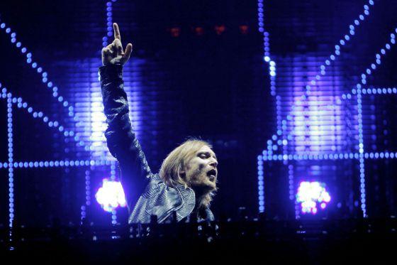 El 'dj' David Guetta, en su última actuación en Madrid, el pasado mayo.