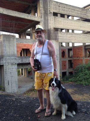 El antropólogo Marc Augé, retratado esta semana en Giarre.