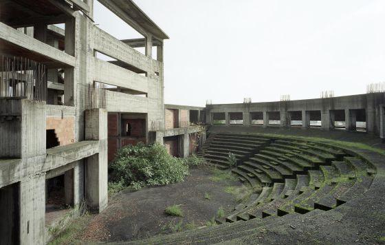 El centro polifuncional de Giarre.