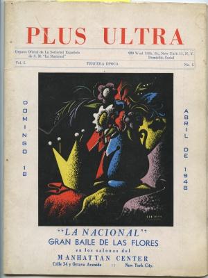 El anuncio de portada se refiere al gran baile que organizaba 'la Nacional'. (Cortesía de Artur Balder).