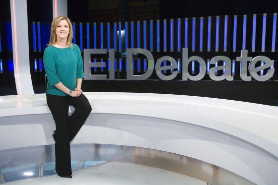 María Casado presentaba hasta ahora 'El debate de La 1'