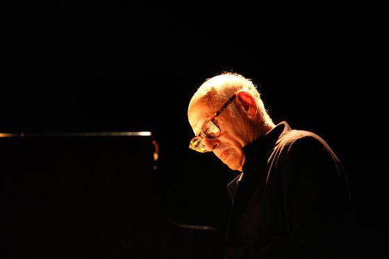 Michael Nyman durante su actuación en Pollença