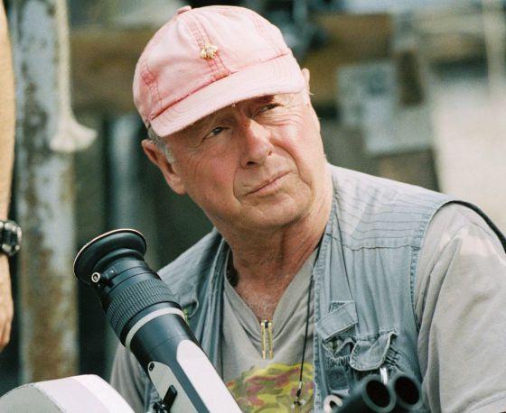El director de cine Tony Scott durante un rodaje en 2006.