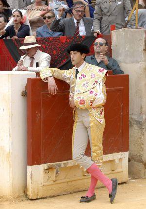El actor Adrien Brody, caracterizado como Manolete en la película que se estrena el viernes.