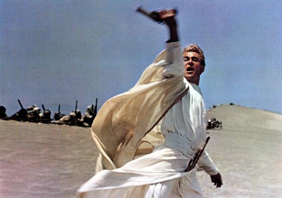 Fotgrama de la película 'Lawrence de Arabia'.