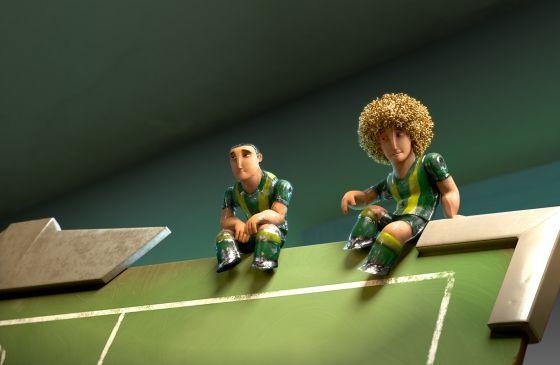 Fotograma de 'Futbolín'.
