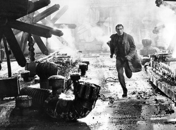 Harrison Ford, en un fotograma de Blade Runner (1982), de Ridley Scott.